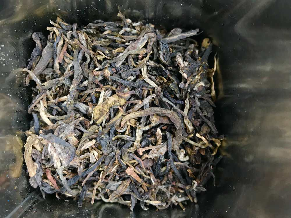 Loose Pu Erh Tea Storage