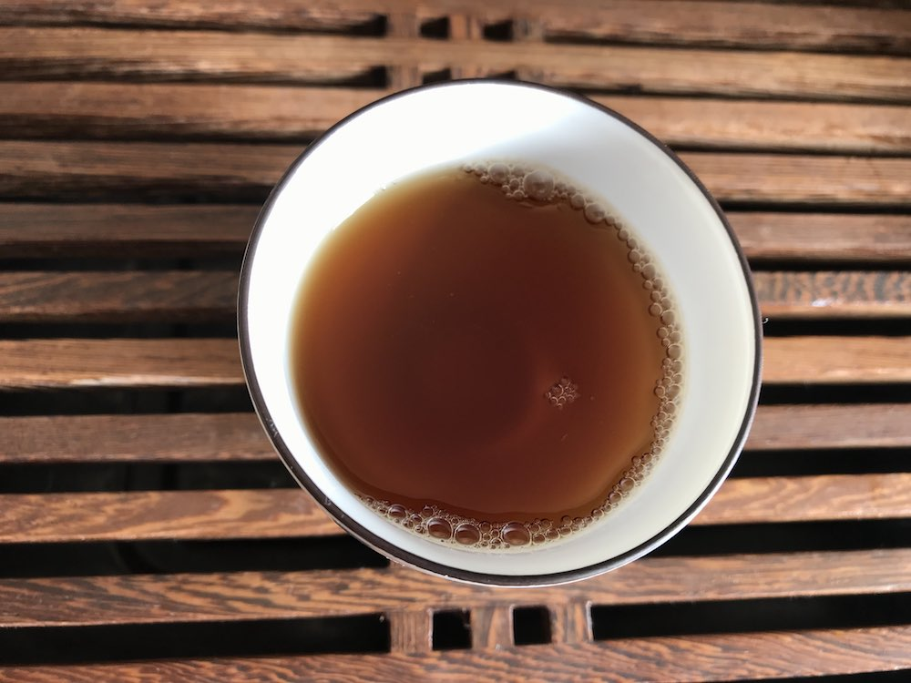 Drink Pu Erh Tea Cold